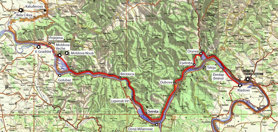 mapa srbije i rumunije RUMUNIJA   sažvaćak mapa srbije i rumunije